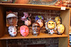 A small preview selection of 2013 FACES UnMasked masks at September 27 Southside Stroll at Hart Gallery