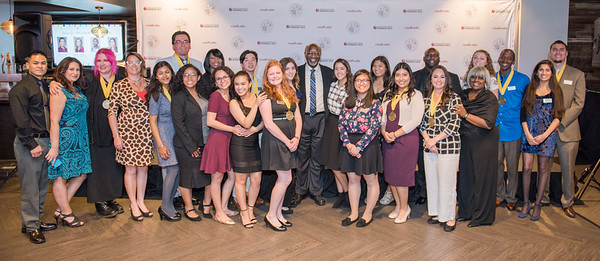 The 2017 Presidential Scholars Benefit reception held at the Stadium Club of the Stubhub Center in Carson California, at California State University Dominguez Hills.