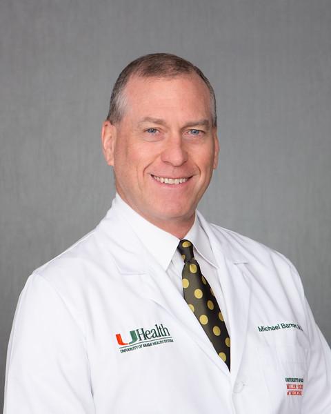 Mike Barron head shot - November 2014.  Photo by Gregg Pachkowski - Biomedical Communications.
