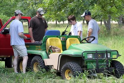 Shooting Guns at Sugar Hill Ranch, 06-05-10