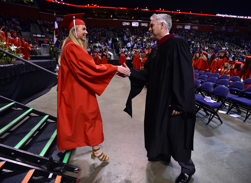 Fairview High School graduation