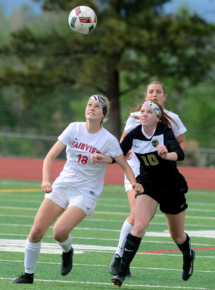FAIRVIEW GIRLS SOCCER VS ROCK CANYON