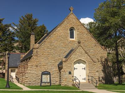 Yellowstone Chapel (color)