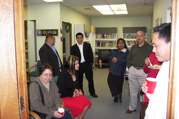 FAL XMAS 2003 Reception at SIPA