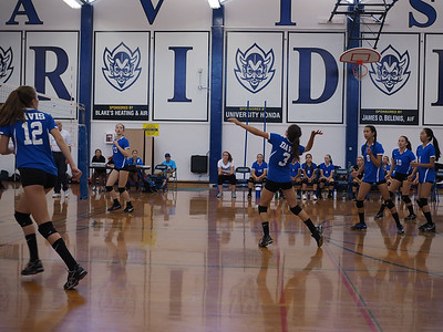 160912 DAVIS FRESHMAN VOLLEYBALL (MONTEREY TRAILS MATCH)