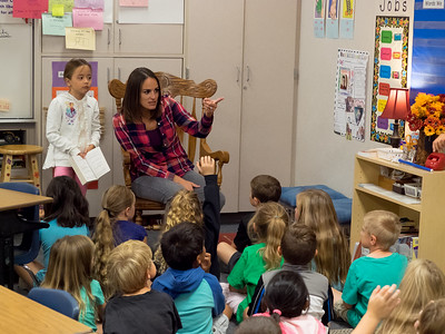 160921 FIRST GRADE - JILL CANFIELD'S CLASS AT SMITH ELEMENTARY SCHOOL