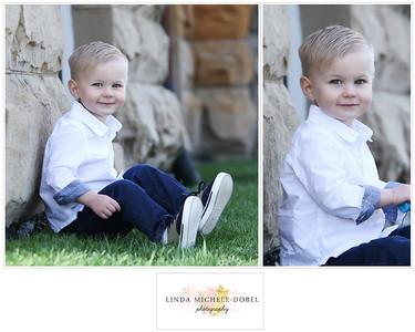 Oliver Brooks Age 2 Collage #3