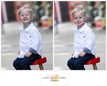 Oliver Brooks Age 2 Collage #5