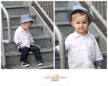 Oliver Brooks Age 2 Collage #2