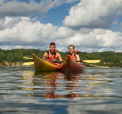Kayaking Wazee