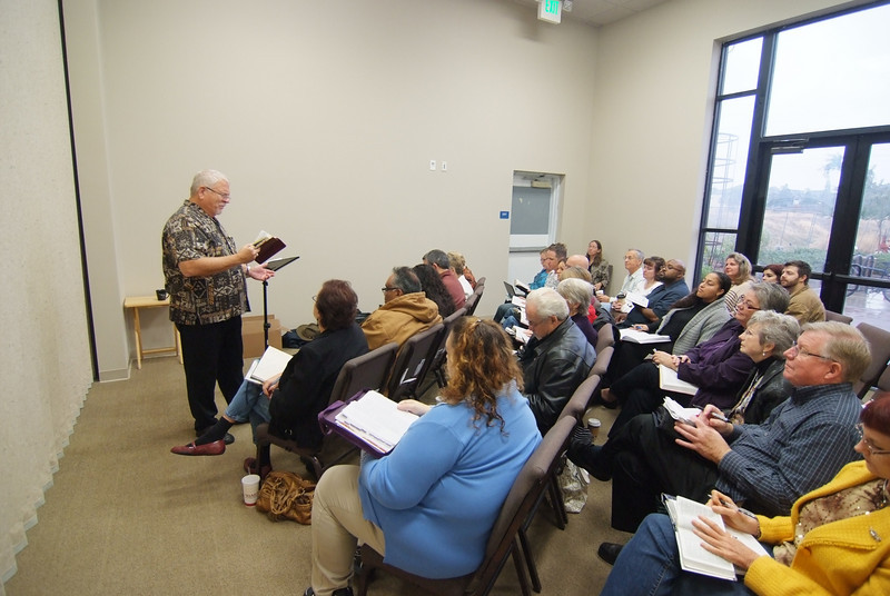 Sunday School Class with Pastor Rich