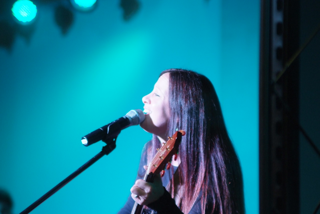 Siobhan Oliver, our Worship Leader
