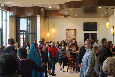 The cafe and coffee station....definitely a popular hang out on Sunday mornings!