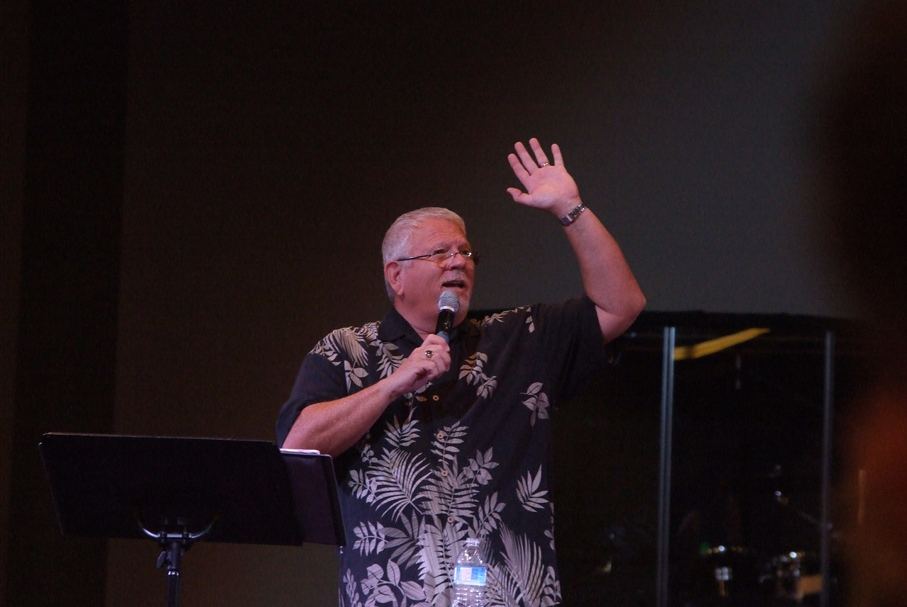 """Pastor Rich, being transparent and """"real"""", as only He can. We love you, Pastor!!"""