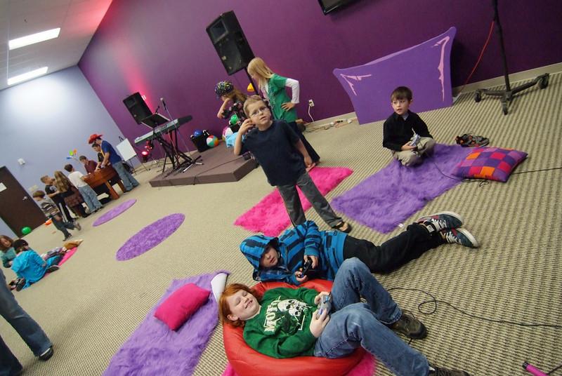 Kids church fun!