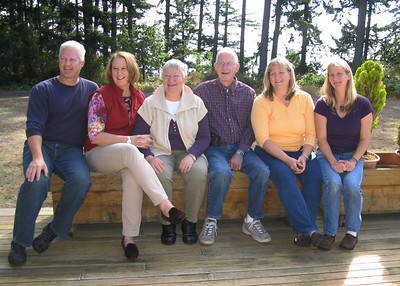 LINDQUIST FAMILY - Alan, Janet, Dorothy, Don, Carol, Judy