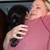 Lisa & Audrey Hugging