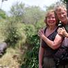 Nancy & Eric Wright & the Hippopotamus