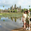 Nancy & Eric at Angkor Wat