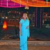 Nancy Wright in Her Sari