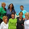 Matilda, Susie, Nancy H., Peach, Nancy W., Bev & Janet