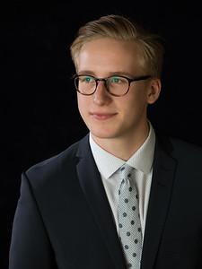 Micah's Graduation Portraits