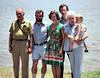 1977 07 Stan, Clyde, Jan, Richard, Thelma, Cameron, Fowler Reunion, Llano TX