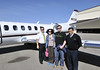 Netjet pilots and a couple of happy passengers in Fredericksburg, Texas