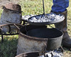 dutch oven cooking biscuits