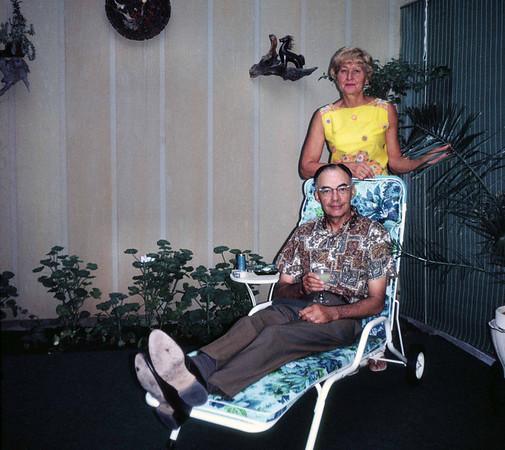 Clara and Wendell, Windsor Gardens, September 1968