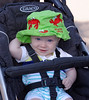 Denver Botanic Gardens at Chatfield: Wyatt ready for an adventure