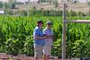 Joe and Suzanne in tall corn