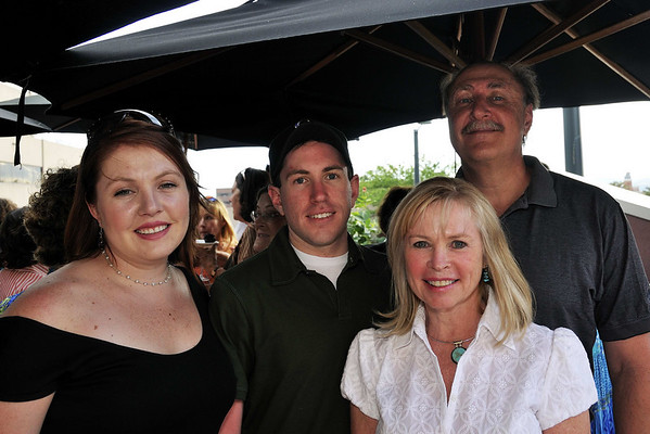 Ellen, Pat, daughter Liz and son Michael