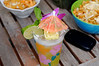 Hawaiian theme - Mai Tai with the required umbrella