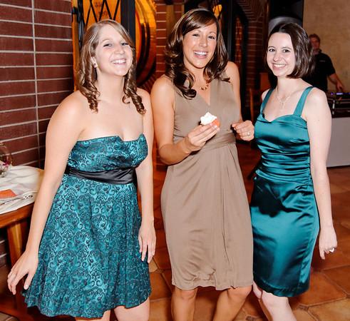 Kristen, Lisa, and Jennifer