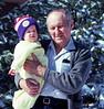 Glenn & maternal grandfather Stan, at home in Denver, 457 S. Pontiac Way, probably Christmas 1978