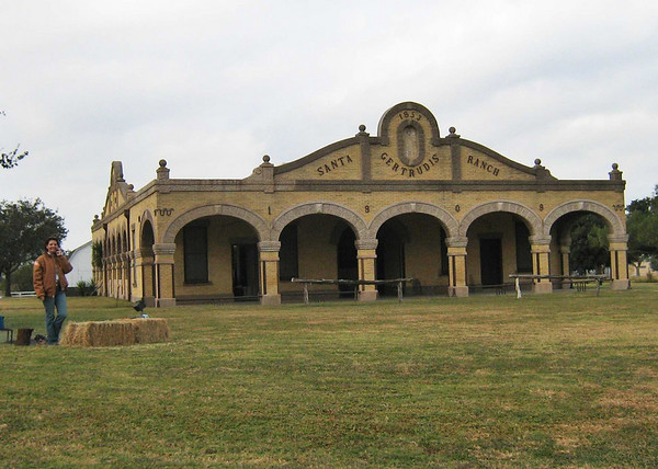 Original 1853 building - the Santa Gertrudis breed originated here