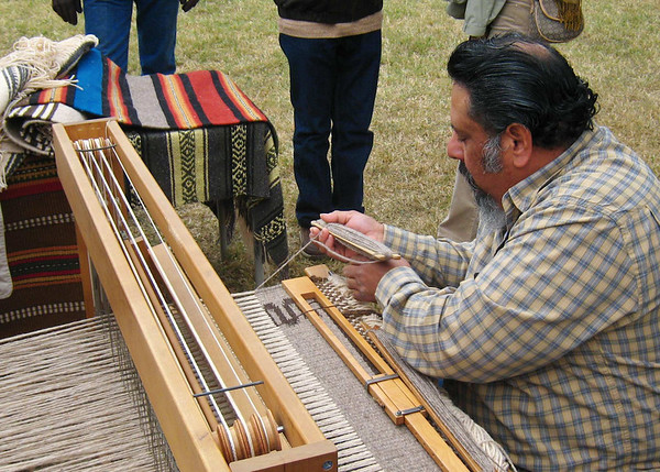 Weaving - note the King Ranch brand