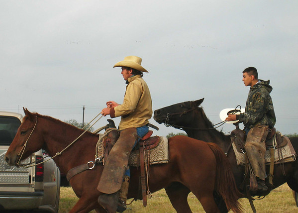 King Ranch riders