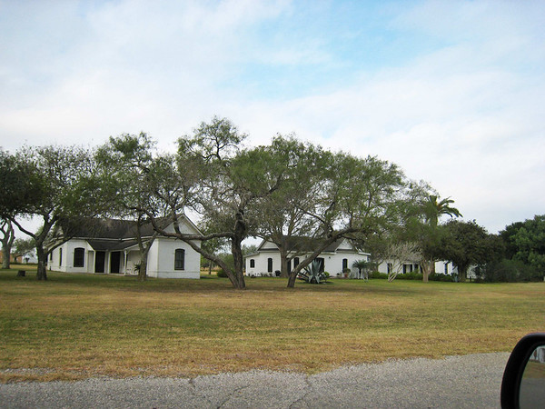 Outbuilding for ranch personnel - very typical of the simple and spare style of the ranch