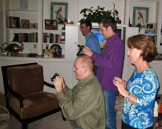 Taking pictures, Joe, Greg, Drew, Patsy