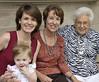 4 generations:  Anna, Amber, Patsy, Doris