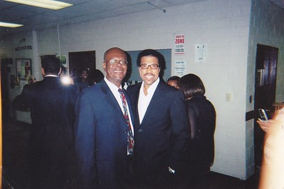 Me and LIonel Richie in Mississippi.
