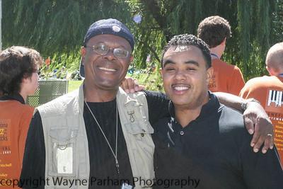 Me and Curtis Williams, (Kool and the Gang) Sedona, AZ