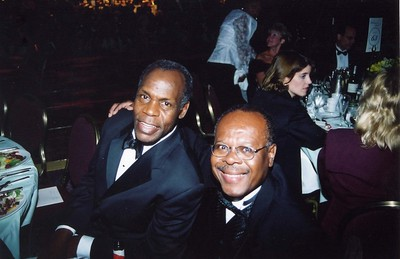 Danny Glover and me in NY