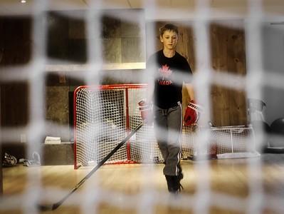 Sebastien Hockey Player