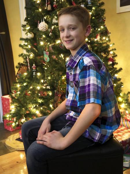 SEBASTIEN AT CHRISTMAS 2015
