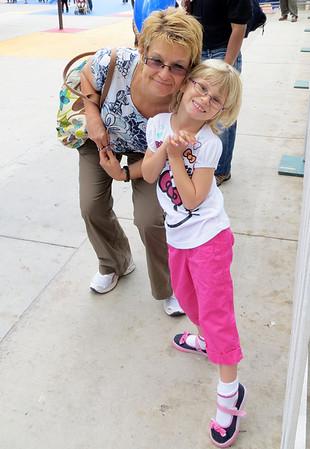 2013 04 Lilah visits Jake & family