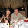 Bonnie & Mike Mineo.  Waiting patiently for margaritas!  Happy anniversary you lovebirds!