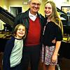 PAPA WITH HIS 2 GRANDAUGHTERS AT KILEY'S PIANO RECITAL